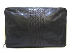 ボッテガヴェネタ バッグ イントレチャート B01219084D 黒 レザー