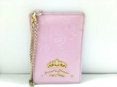 サマンサタバサプチチョイス パスケース ピンク×パープル Disney