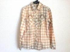 ロアー 長袖シャツ サイズ3 L メンズ美品  チェック柄/二丁拳銃