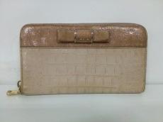 miumiu(ミュウミュウ) 長財布 - 5M0506 ライトベージュ×ベージュ