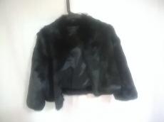 リフレクト コート サイズ9 M レディース美品  黒 ファー/冬物