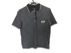 FENDI(フェンディ) 半袖ポロシャツ サイズUSA 10 レディース 黒×白