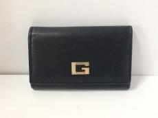 GUCCI(グッチ) キーケース - - 黒 6連フック レザー