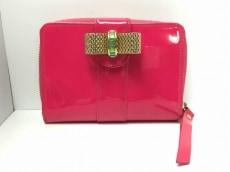 クリスチャンルブタン 2つ折り財布 SWEET CHARITY ピンク