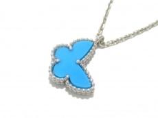 ヴァンクリーフ&アーペル ネックレス美品  K18WG×ターコイズ