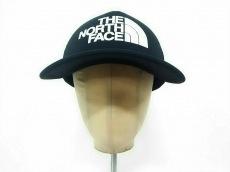 THE NORTH FACE(ノースフェイス) キャップ FREE 黒×白 ポリエステル