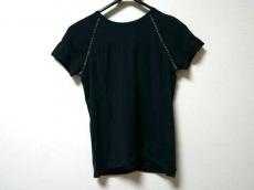 フェンディ 半袖Tシャツ サイズ38 S レディース美品  黒×ベージュ