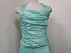セラヴィ ワンピース サイズ9 M レディース美品  ペールグリーン