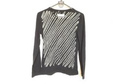 マルタンマルジェラ 長袖Tシャツ サイズs S レディース 黒×グレー