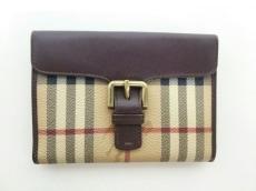 Burberry LONDON(バーバリーロンドン)/Wホック財布
