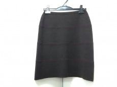 ジルサンダー スカート サイズ38 S レディース美品  ダークブラウン
