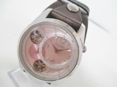 フォッシル 腕時計 ME-1064 レディース 革ベルト/クロノグラフ