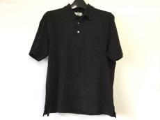 HERMES(エルメス) 半袖ポロシャツ サイズM メンズ 黒