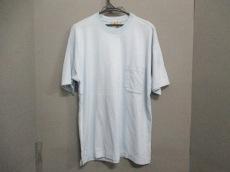HERMES(エルメス) 半袖Tシャツ サイズL メンズ ライトブルー