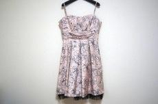 aimer(エメ) ドレス サイズ9 M レディース新品同様  ピンク×黒