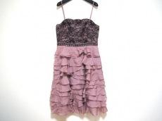 グレースクラス ドレス サイズ36 S レディース美品  ピンク×黒