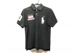 ポロラルフローレン 半袖ポロシャツ サイズM メンズ 黒×白×マルチ