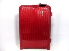 RIMOWA(リモワ) キャリーバッグ レッド TSAロック ポリカーボネイト