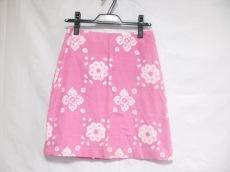 トッカ スカート サイズ2 S レディース ピンク×アイボリー 花柄