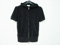 モンクレール パーカー サイズXS レディース美品  黒 パイル/半袖