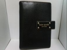 Kate spade(ケイトスペード) 手帳 黒 レザー
