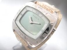 FOSSIL(フォッシル) 腕時計 - メンズ 革ベルト ダークグレー