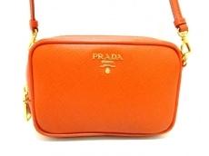 PRADA(プラダ) ショルダーバッグ美品  - 1N1674 オレンジ