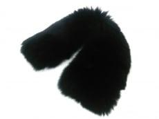 SAGAFURS(サガファー) マフラー 9 黒 ファー