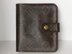 ルイヴィトン 2つ折り財布 モノグラム コンパクト・ジップ M61667