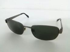 ブルガリ サングラス 508 黒×シルバー プラスチック×金属素材