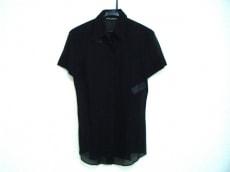 ドルチェアンドガッバーナ 半袖シャツブラウス サイズ40 M美品  黒