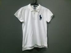ポロラルフローレン 半袖ポロシャツ サイズM メンズ美品  白