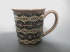 ペンドルトン マグカップ新品同様  ベージュ×ブラウン×マルチ 陶器