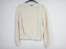 メゾンキツネ 長袖セーター サイズS レディース美品  アイボリー