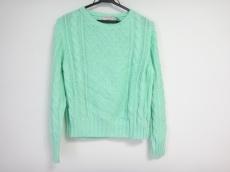 メゾンキツネ 長袖セーター サイズS レディース美品  ライトグリーン