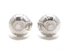 ブルガリ カフス美品  K18WG×ダイヤモンド 2Pダイヤ/1P約0.1ct