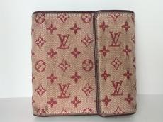 ルイヴィトン 3つ折り財布 モノグラムミニ M92241 スリーズ