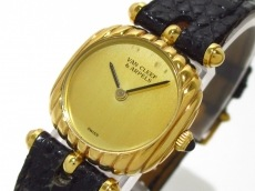 VCA/ヴァンクリ 腕時計 22315 レディース ゴールド