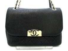 CHANEL(シャネル) ショルダーバッグ美品  マトラッセ A93856 黒