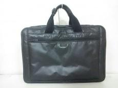 ポーター ビジネスバッグ - 黒 PVC(塩化ビニール)×ナイロン