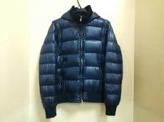 ヘルノ ダウンジャケット サイズ48 M メンズ美品  ネイビー 冬物