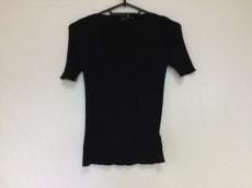 PRADA(プラダ) 半袖セーター サイズ42 M レディース 黒