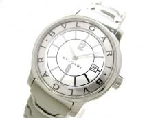 BVLGARI(ブルガリ) 腕時計 ソロテンポ ST29S レディース 白