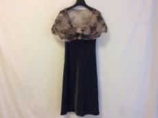 グレースクラス ドレス サイズ36 S レディース美品  黒×ベージュ