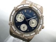 FOSSIL(フォッシル) 腕時計 BQ-8753 レディース ネイビー
