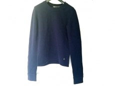 バレンシアガ 長袖セーター サイズ34 S レディース ダークネイビー