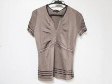 シトラスノーツ 半袖セーター サイズM レディース美品  薄手/ラメ