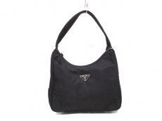 PRADA(プラダ) ハンドバッグ - 黒 ミニサイズ ナイロン