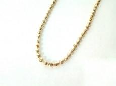 AGATHA(アガタ) ネックレス美品  金属素材 ゴールド チェーンのみ