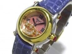 ショパール 腕時計 ハッピースポーツ 27/8246-21 レディース ピンク